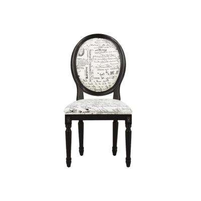 Hayden Ii Black Side Chairs Regarding Trendy Dining Chairs – Kitchen & Dining Room Furniture – The Home Depot (Gallery 20 of 20)