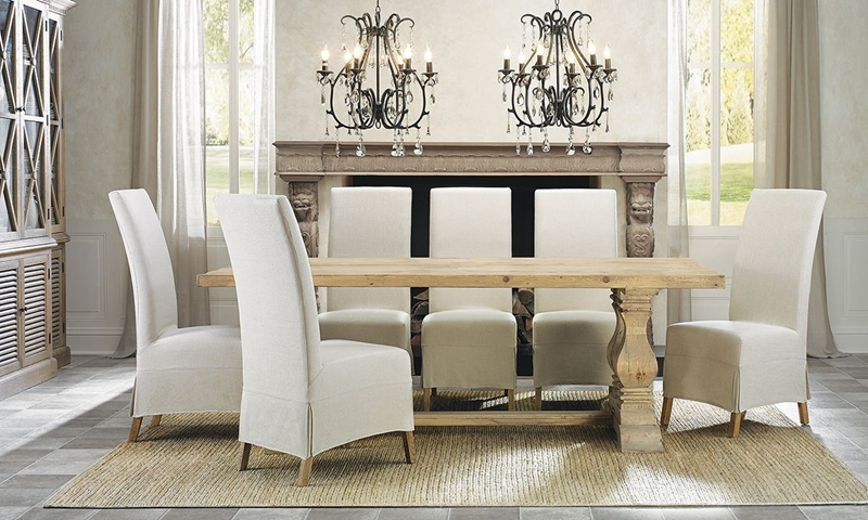 Haynes Furniture With Natural Wood & Recycled Elm 87 Inch Dining Tables (View 6 of 20)
