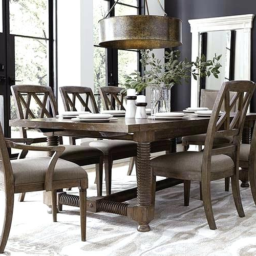 Helms 6 Piece Rectangle Dining Sets Within Current Rectangle Dining Table – Minnix (View 12 of 20)