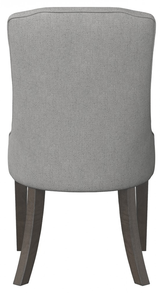 Helms Arm Chairs Pertaining To Preferred Mikalene – Brown Metallic – Dining Uph Arm Chair (2/cn) (View 9 of 20)