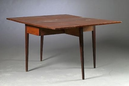 Hepplewhite Drop Leaf Gate Leg Dining Table Intended For 2017 Cheap Drop Leaf Dining Tables (View 11 of 20)