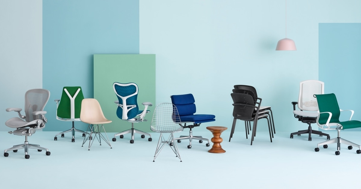 Herman Miller – Modern Furniture For The Office And Home Inside Most Recent Celler Teal Side Chairs (View 14 of 20)