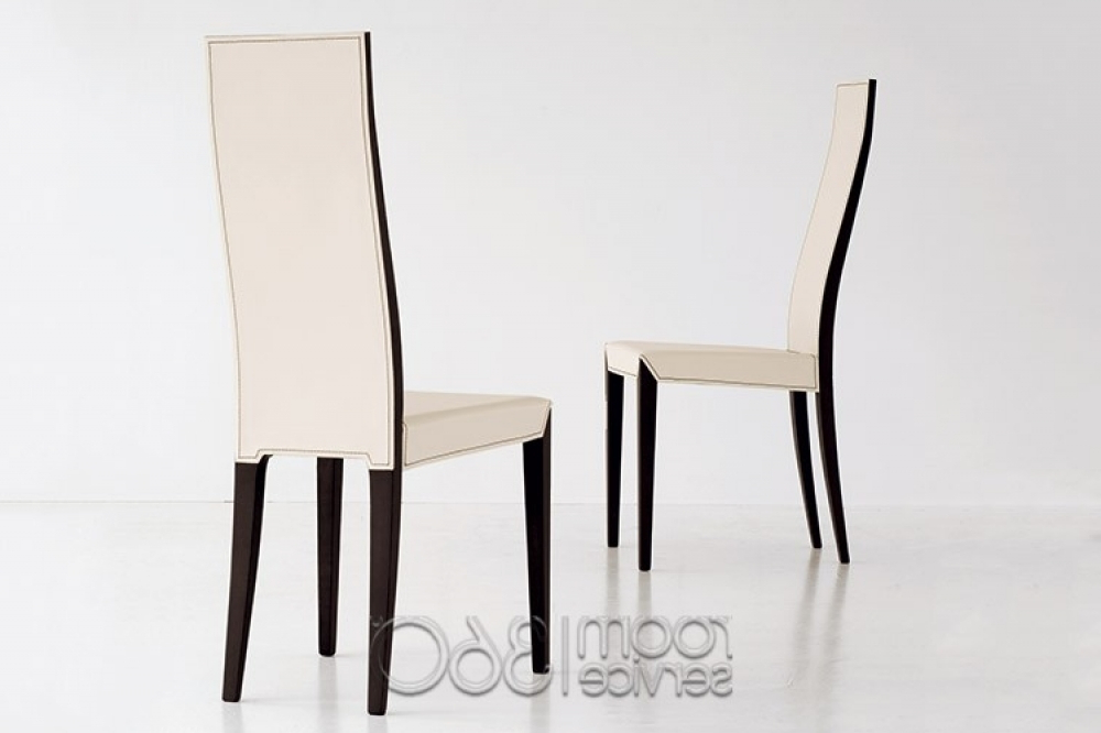 High Back Dining Chairs Within Most Current High Back Leather Dining Chairs (View 5 of 20)