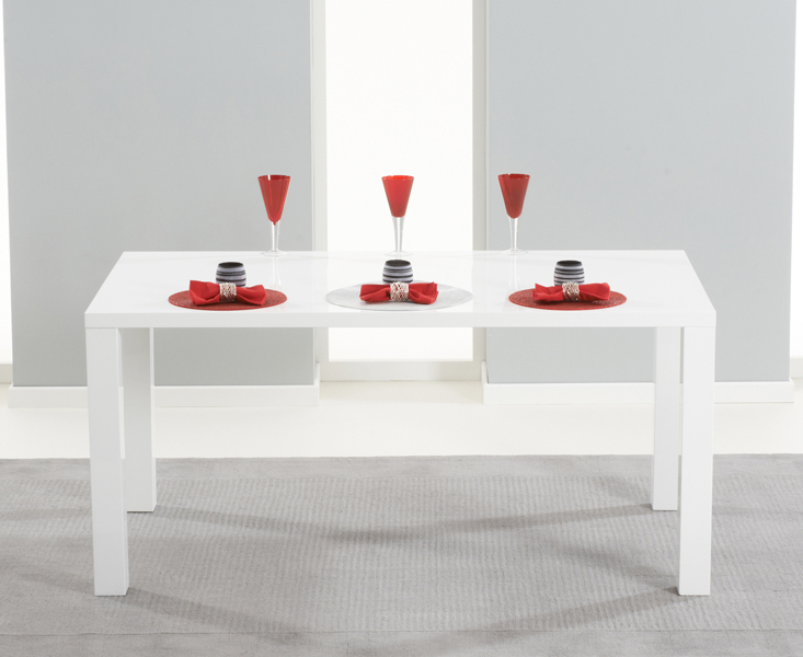 High Gloss Dining Furniture With Current Hereford 160cm High Gloss Dining Table (View 20 of 20)