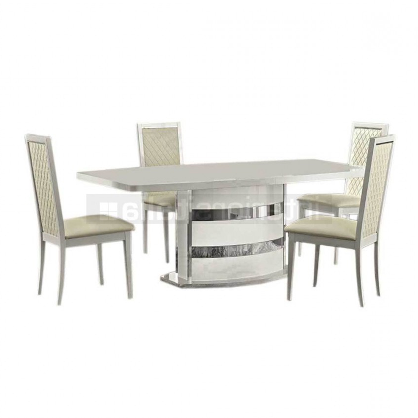 High Gloss Dining Set (View 5 of 20)