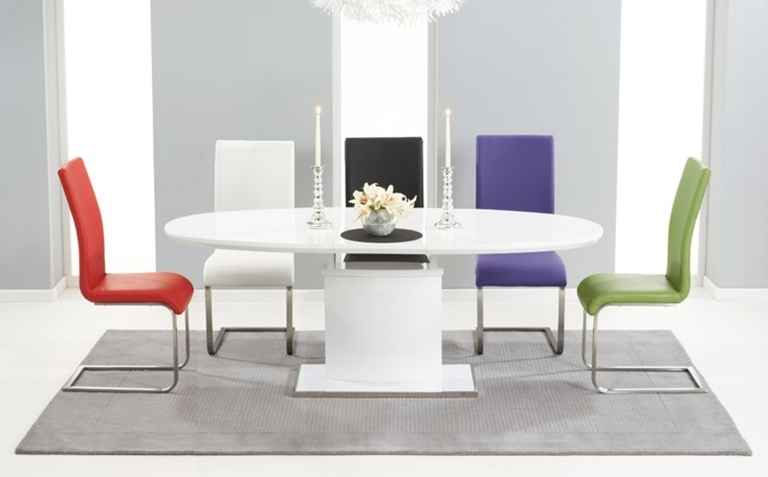 High Gloss Dining Table Sets (View 11 of 20)