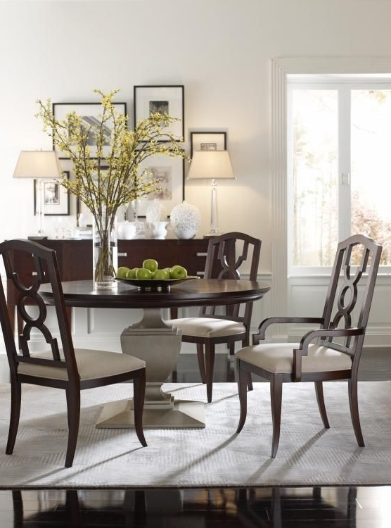 Highland House Furniture: Hh20 315 Cf – Orion Round Dining Table Pertaining To Famous Candice Ii Round Dining Tables (View 12 of 20)