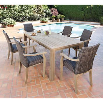[%Hilo 100% Fsc Certified Teak 7 Piece Dining Set $1900 | Stomp The Pertaining To Recent Outdoor Brasilia Teak High Dining Tables|Outdoor Brasilia Teak High Dining Tables Pertaining To 2017 Hilo 100% Fsc Certified Teak 7 Piece Dining Set $1900 | Stomp The|Most Up To Date Outdoor Brasilia Teak High Dining Tables Regarding Hilo 100% Fsc Certified Teak 7 Piece Dining Set $1900 | Stomp The|Best And Newest Hilo 100% Fsc Certified Teak 7 Piece Dining Set $1900 | Stomp The Intended For Outdoor Brasilia Teak High Dining Tables%] (View 1 of 20)