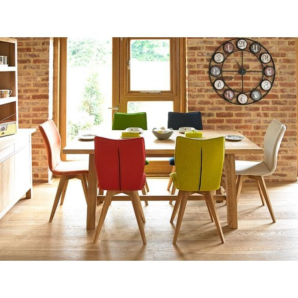 Holloways With Oak Dining Tables And Leather Chairs (View 8 of 20)