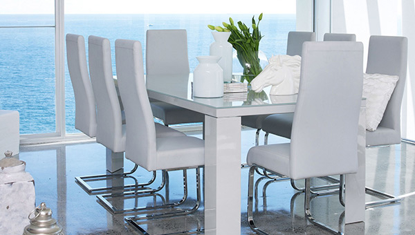 Home Design Lover With White Dining Suites (Gallery 2 of 20)