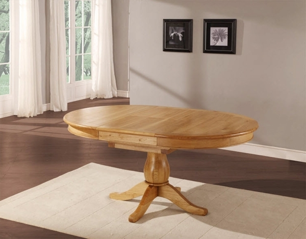 Home Design Lover Within Most Up To Date Circular Oak Dining Tables (View 11 of 20)