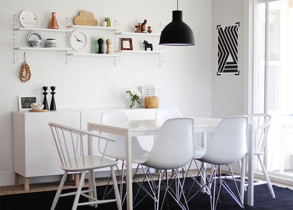 Home Design Lover Within Most Up To Date Scandinavian Dining Tables And Chairs (View 4 of 20)