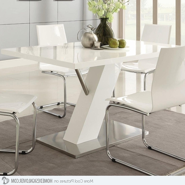 Home Design Lover Within Recent Contemporary Dining Sets (View 10 of 20)