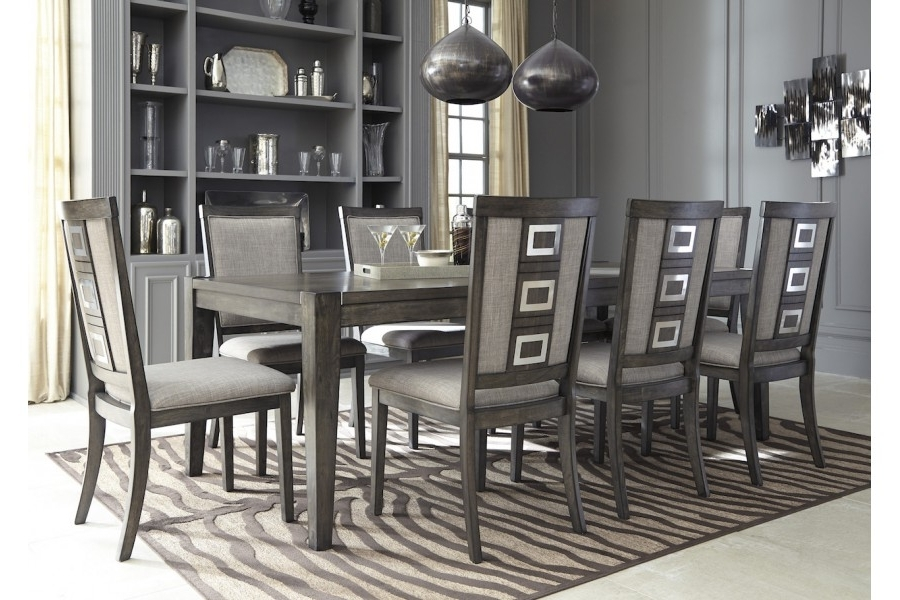 Home Elegance Usa Pertaining To Caira 9 Piece Extension Dining Sets (View 6 of 20)