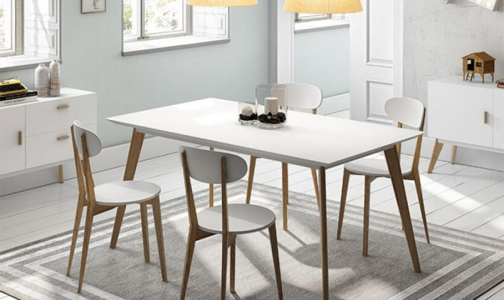 Home For Dining Tables With White Legs And Wooden Top (View 4 of 20)