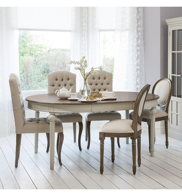 Home Interior Inspiration Pertaining To Shabby Chic Extendable Dining Tables (View 8 of 20)