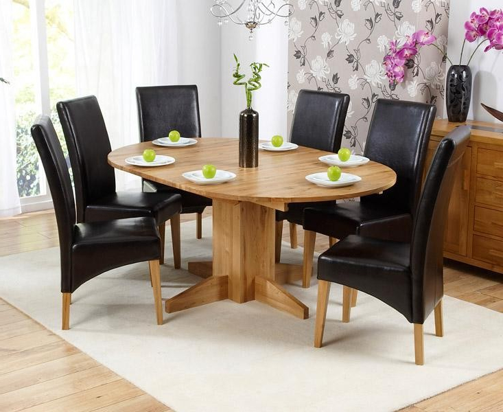 Home Interior Inspiration With Regard To Most Recently Released Round 6 Seater Dining Tables (Gallery 12 of 20)