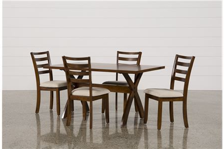 Featured Photo of Palazzo 7 Piece Dining Sets With Mindy Slipcovered Side Chairs