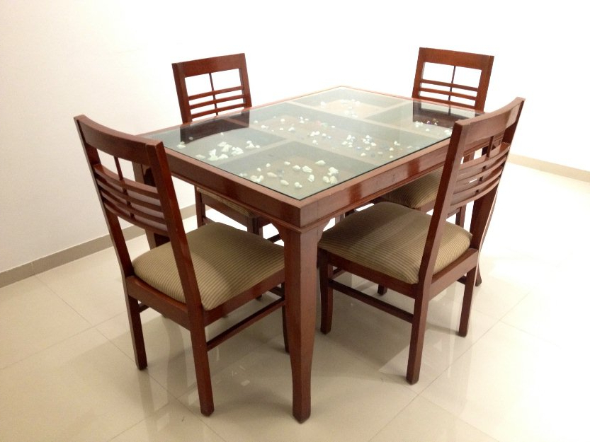 Homesfeed Pertaining To Most Recently Released Glass Dining Tables With Wooden Legs (View 9 of 20)