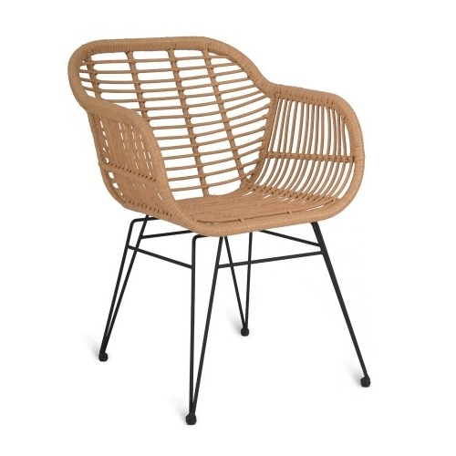 Featured Photo of Garten Storm Chairs With Espresso Finish Set Of