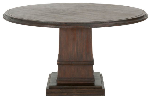 "Hudson Round Dining Tables Regarding Current Hudson Round Dining Table, 54"" – Traditional – Dining Tables – (View 8 of 20)"