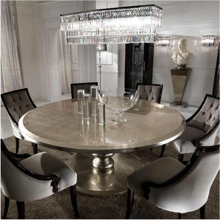 Huge Round Dining Tables With Most Current Best Large Round Dining Table : Table – Dullkniferecords (View 7 of 20)