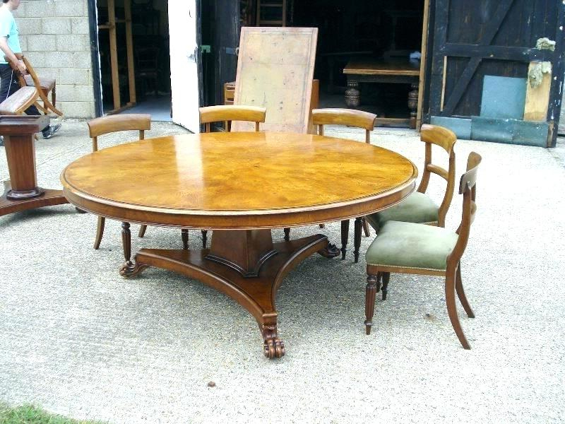 Huge Round Dining Tables With Regard To Fashionable Large Round Dining Room Table Seats 10 – Modern Computer Desk (View 8 of 20)