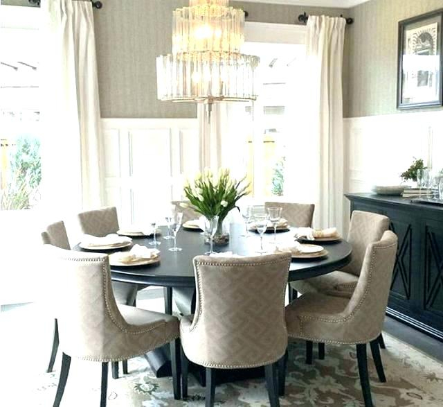 Huge Round Dining Tables With Regard To Trendy Big Round Dining Room Tables – Architecture Home Design • (Gallery 20 of 20)