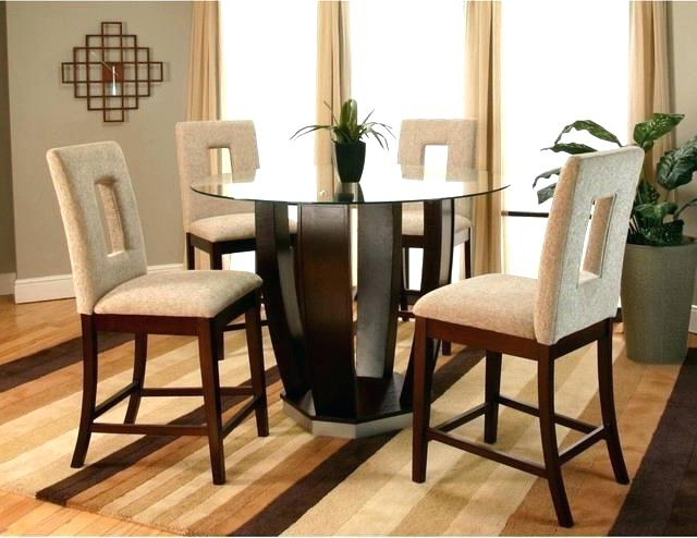 Hyland 5 Piece Counter Sets With Bench For Popular Hyland Counter Height Dining Room Table – Ocane (View 8 of 20)