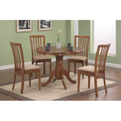 Hyland 5 Piece Counter Sets With Bench Throughout Most Current Signature Designashley Hyland 5 Piece Dinette Set & Reviews (View 11 of 20)