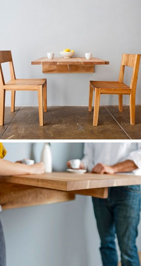 Ideas With Regard To Dining Tables With Fold Away Chairs (View 17 of 20)