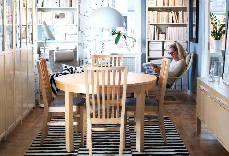 Ikea Round Dining Table Set Dining Room Tables And Chairs A Dining Within Latest Ikea Round Dining Tables Set (View 7 of 20)