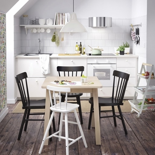 Ikea With Widely Used Crawford Side Chairs (View 7 of 20)