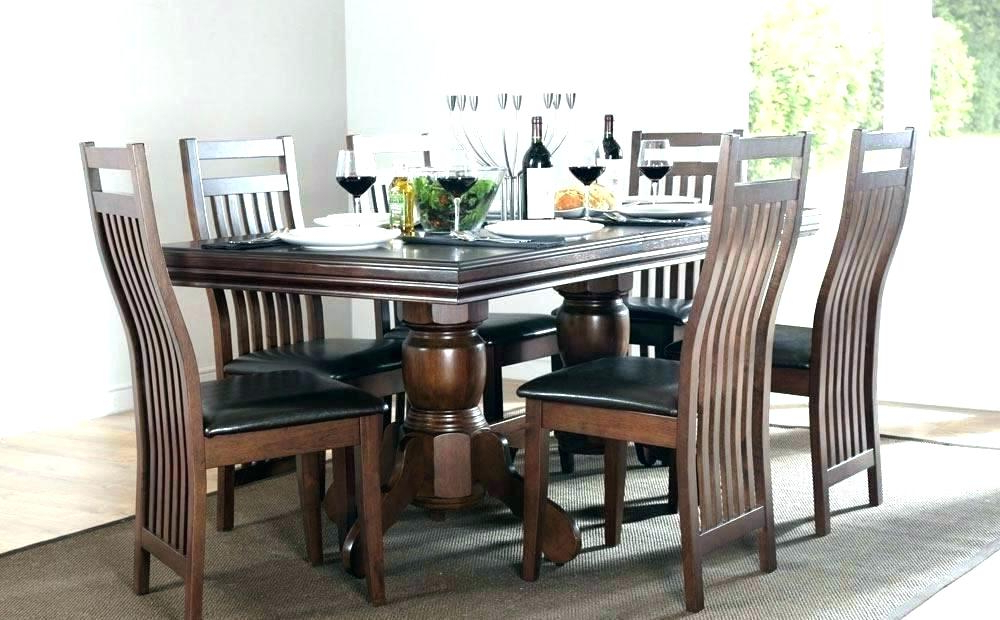 Imágenes De Dark Wood Dining Table And Chairs Uk For Widely Used Dark Wood Dining Tables And Chairs (View 15 of 20)