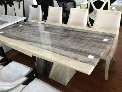 Imported Italian Marble Dining Tables, मार्बल डाइनिंग Within Newest Dining Tables (View 5 of 20)