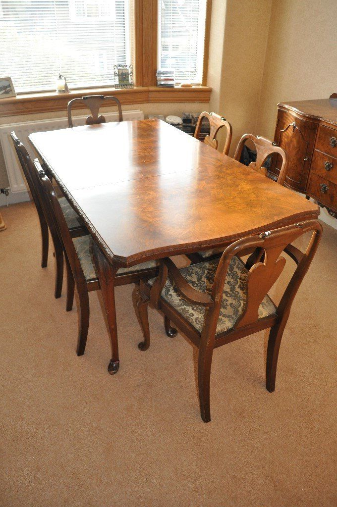 In In Walnut Dining Tables And Chairs (Gallery 13 of 20)