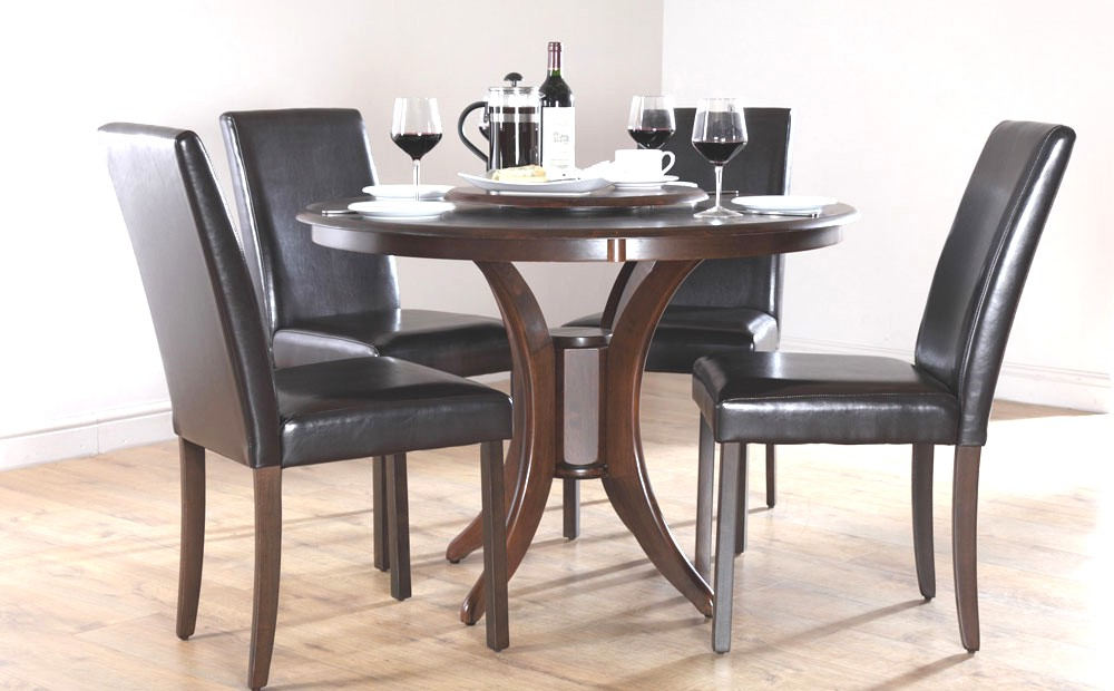 Incredible Stylish Small Dark Wood Dining Table Dining Table Dark Intended For Most Up To Date Small Dark Wood Dining Tables (Gallery 10 of 20)