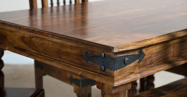 Indian Dining Room Furniture: Exclusively Designed Furniture Inside Trendy Indian Wood Dining Tables (Gallery 4 of 20)