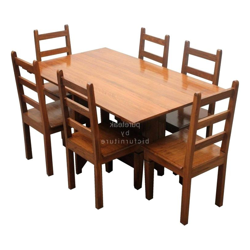 Indian Dining Tables And Chairs Intended For Best And Newest Indian Wood Dining Table Wooden Dining Table Set Indian Wood Dining (View 17 of 20)