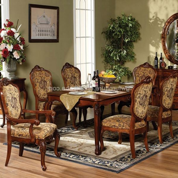 Indian Dining Tables With Regard To 2017 Indian Style Dining Tables – Buy Indian Style Dining Tables,french (View 16 of 20)