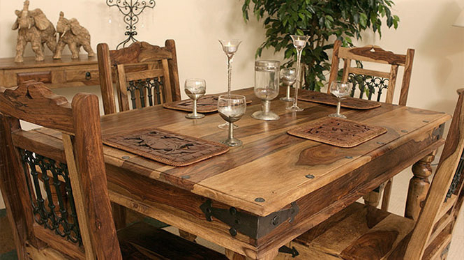 Indian Sheesham, Rosewood, Mango, Acacia, Walnut And With Fashionable Indian Wood Dining Tables (View 13 of 20)