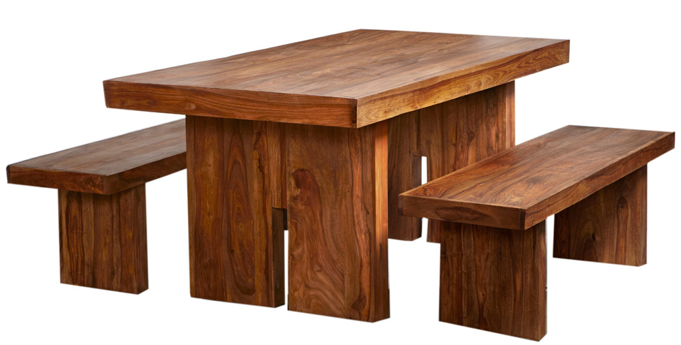 Indian Wood Dining Tables Intended For Well Known Reclaimed Indian Wood Dining Room Furniture – Buy Online – Uk (Gallery 19 of 20)