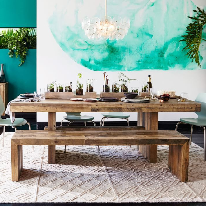 Indoor Picnic Style Dining Tables Throughout 2018 Embrace The Relaxed Style Of Indoor Picnic Tables (View 2 of 20)