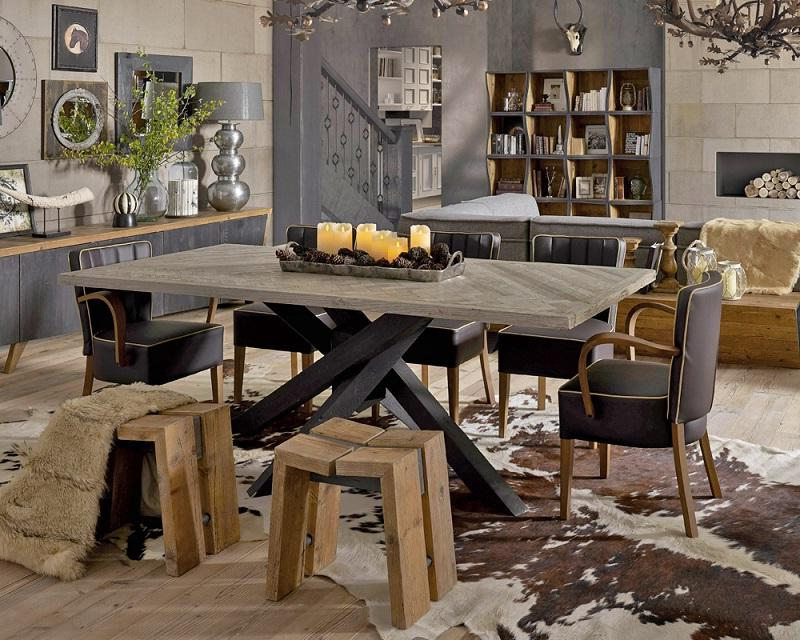 Industrial Furniture For Industrial Style Dining Tables (View 14 of 20)