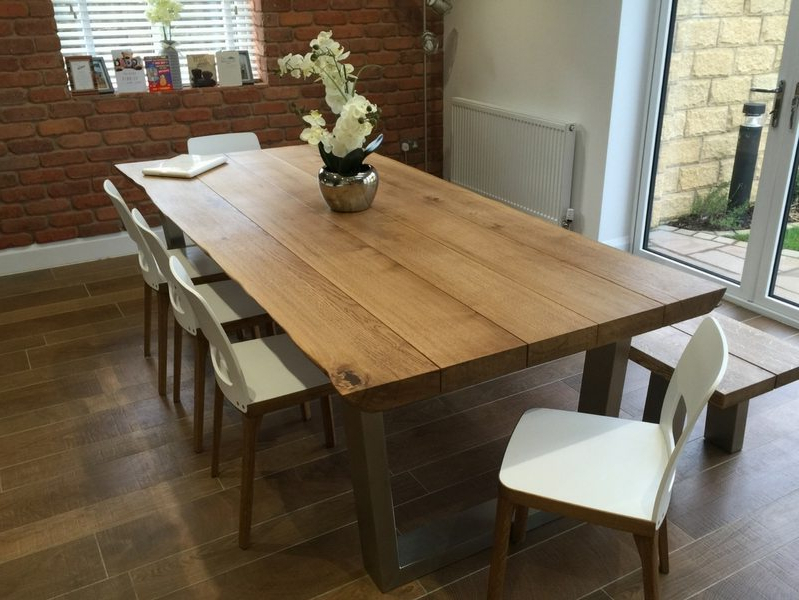 Industrial Style Dining Table From Tarzan Tables – The Komodo  (View 10 of 20)