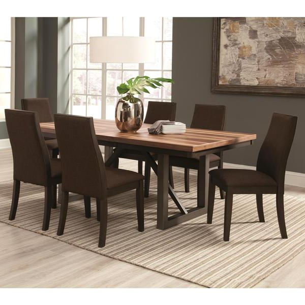 Industrial Style Dining Tables Pertaining To Most Popular Shop Reclaimed Wooden Block Design Table With Industrial Style Base (Gallery 12 of 20)