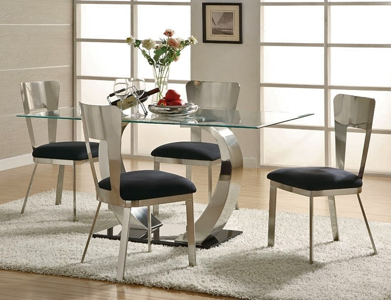 Inspiration Modern Dining Room Sets — Bluehawkboosters Home Design Inside Well Liked Cheap Contemporary Dining Tables (View 12 of 20)