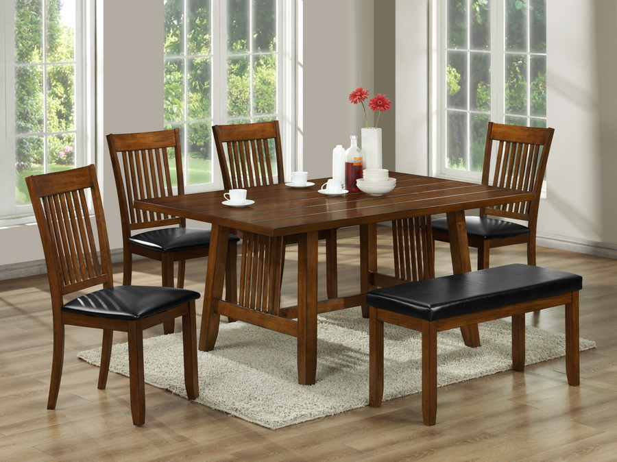 Interior Express Throughout Popular Craftsman 5 Piece Round Dining Sets With Uph Side Chairs (View 13 of 20)