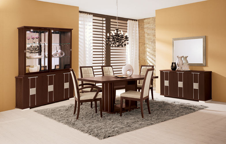 Italian Dining Tables With Most Recently Released Miss Italy Modern Italian Dining Table (View 17 of 20)