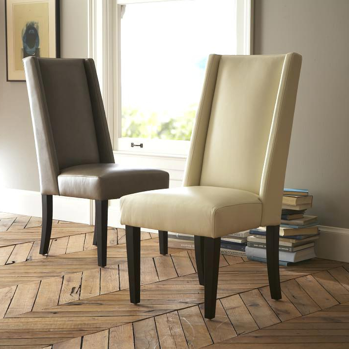 Ivory Leather Dining Chairs Pertaining To Most Up To Date Excellent Ivory Dining Chairs Excellent Leather Dining Chair West (View 8 of 20)